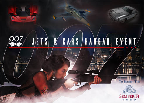 007 Jets & Cars Hangar Event