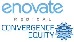 Enovate Medical/Convergence Equity Logos